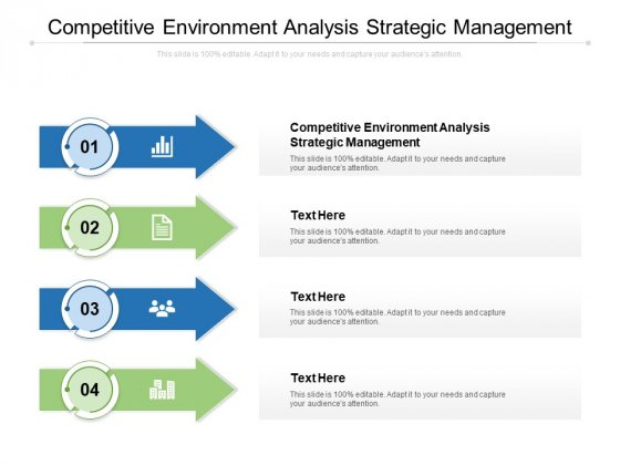 Competitive Environment Analysis Strategic Management Ppt PowerPoint Presentation Show Ideas Cpb