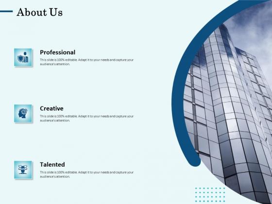 Competitive Intelligence Frameworks About Us Ppt Icon Slides PDF