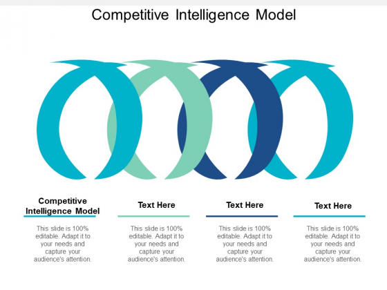 Competitive Intelligence Model Ppt PowerPoint Presentation Outline Infographic Template Cpb