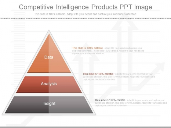 Competitive Intelligence Products Ppt Image
