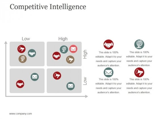 Competitive Intelligence Template 1 Ppt PowerPoint Presentation Summary Microsoft