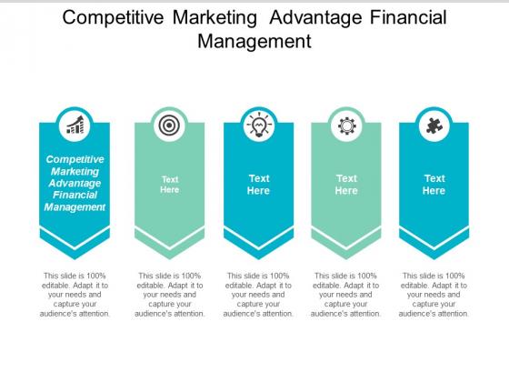 Competitive Marketing Advantage Financial Management Ppt PowerPoint Presentation Slides Background Image Cpb