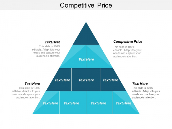 Competitive Price Ppt PowerPoint Presentation Professional Elements Cpb