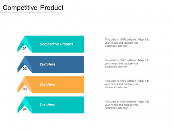Competitive Product Ppt PowerPoint Presentation Icon Graphics Cpb