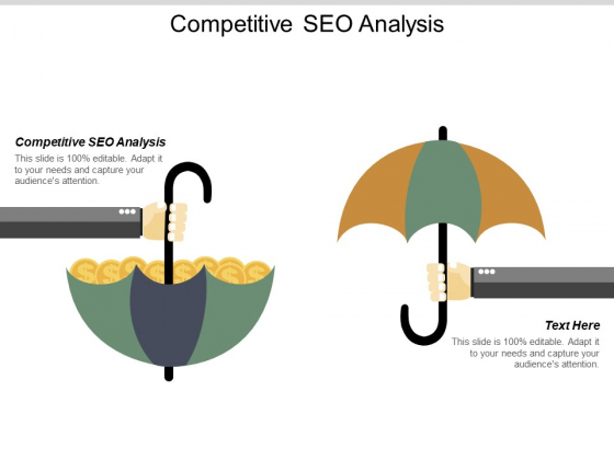 Competitive SEO Analysis Ppt PowerPoint Presentation Outline Graphics Cpb