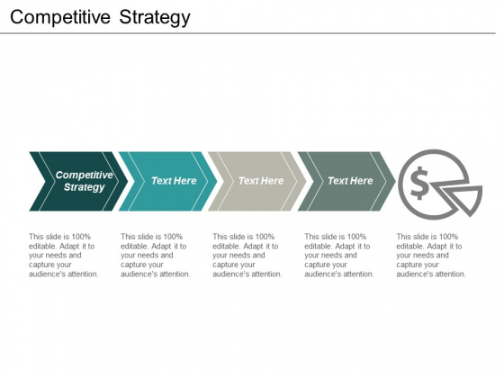 Competitive Strategy Ppt PowerPoint Presentation Gallery Clipart Cpb