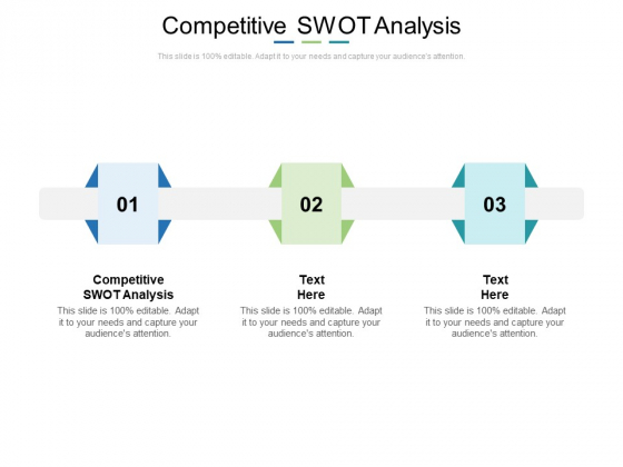 Competitive Swot Analysis Ppt PowerPoint Presentation Styles Clipart Images Cpb
