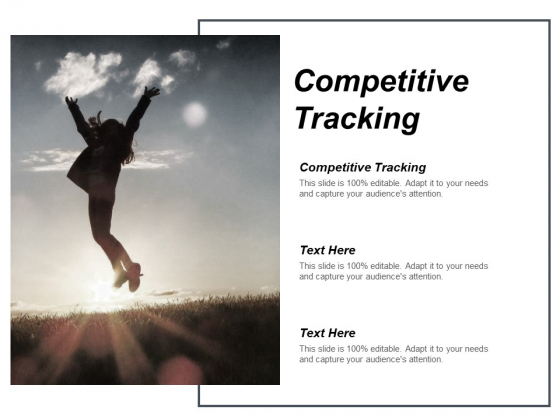 Competitive Tracking Ppt PowerPoint Presentation Pictures Guidelines Cpb