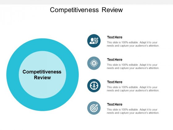 Competitiveness Review Ppt PowerPoint Presentation File Infographic Template Cpb