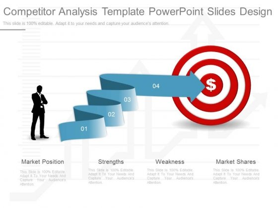 Competitor Analysis Template Powerpoint Slides Design