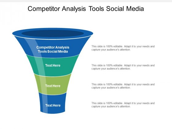 Competitor Analysis Tools Social Media Ppt PowerPoint Presentation Styles Icon Cpb