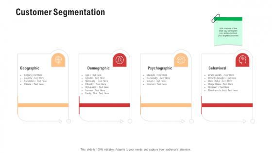 Competitor Assessment In Product Development Customer Segmentation Information PDF