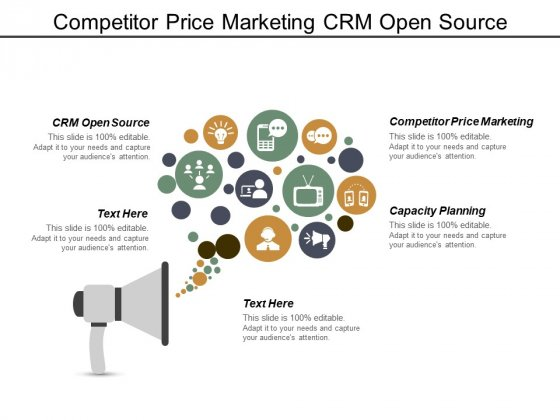 Competitor Price Marketing Crm Open Source Capacity Planning Ppt PowerPoint Presentation Layouts Professional