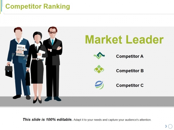 Competitor Ranking Ppt PowerPoint Presentation Professional Slideshow