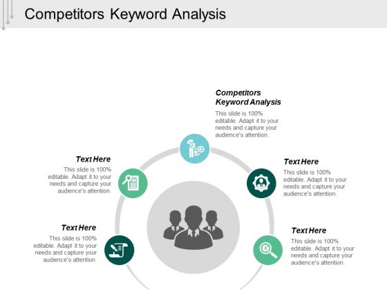 Competitors Keyword Analysis Ppt Powerpoint Presentation Model Graphics Cpb