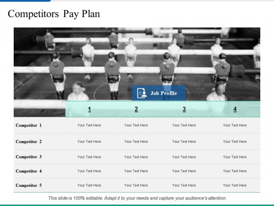 Competitors Pay Plan Ppt PowerPoint Presentation Pictures Graphics Design