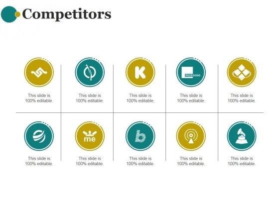 Competitors Ppt PowerPoint Presentation Topics