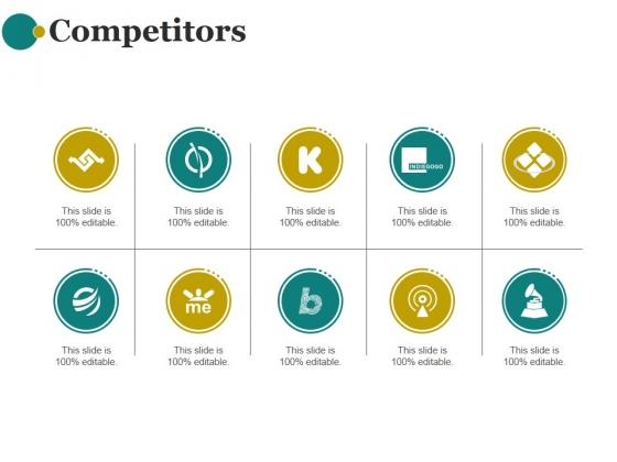 Competitors Ppt PowerPoint Presentation Topics