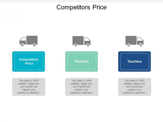 Competitors Price Ppt PowerPoint Presentation Files Cpb