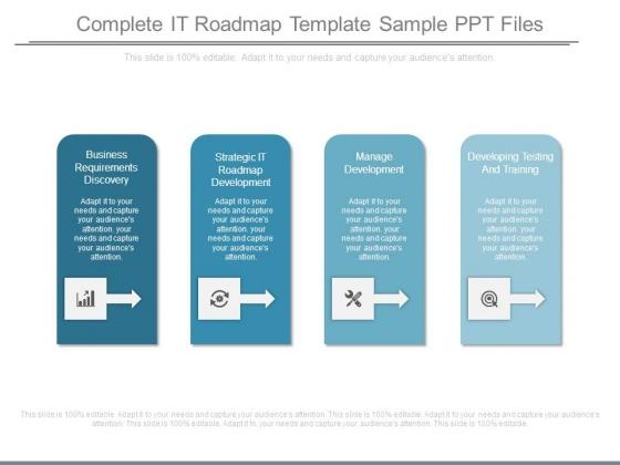 it roadmap ppt