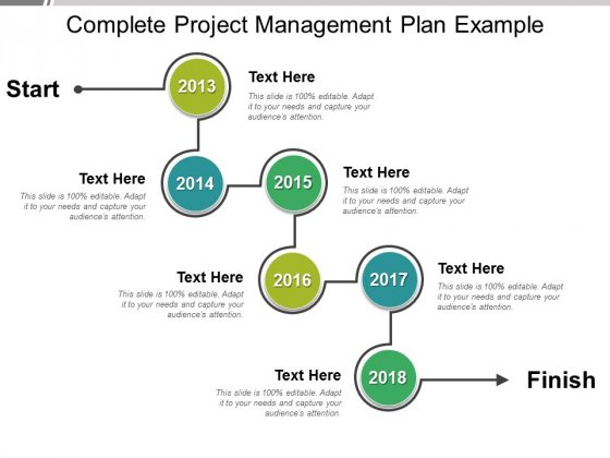 Complete Project Management Plan Example Ppt PowerPoint Presentation Model Pictures
