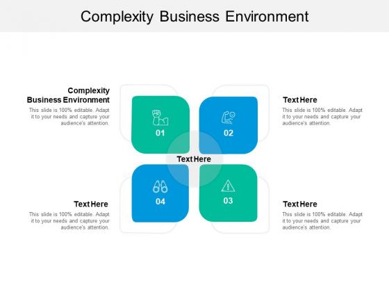 Complexity Business Environment Ppt PowerPoint Presentation Professional Format Cpb