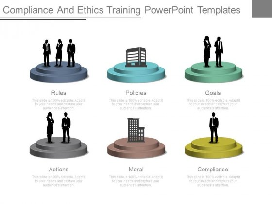 Compliance And Ethics Training Powerpoint Templates