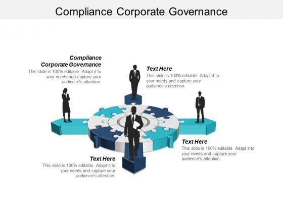 Compliance Corporate Governance Ppt PowerPoint Presentation Slides Portrait