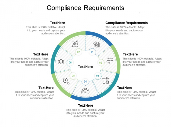 Compliance Requirements Ppt PowerPoint Presentation Icon Example Topics Cpb