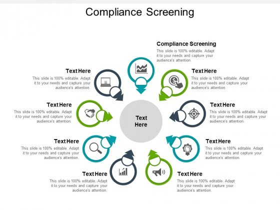 Compliance Screening Ppt PowerPoint Presentation Infographic Template Graphics Design Cpb