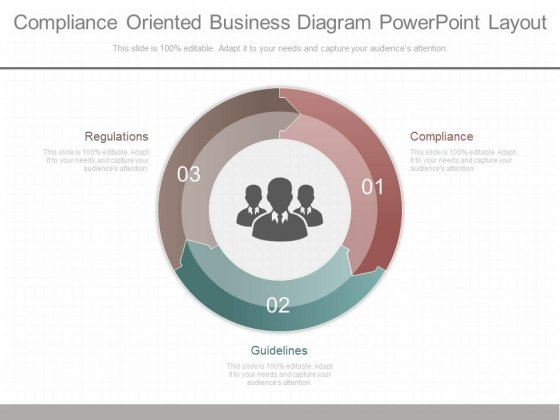 Compliance oriented Business Diagram Powerpoint Layout