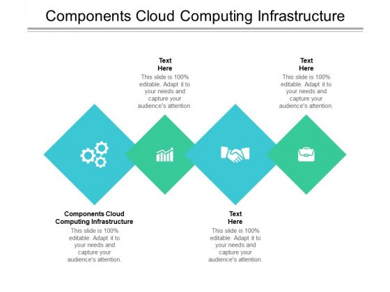 Components Cloud Computing Infrastructure Ppt PowerPoint Presentation Portfolio Guide Cpb Pdf
