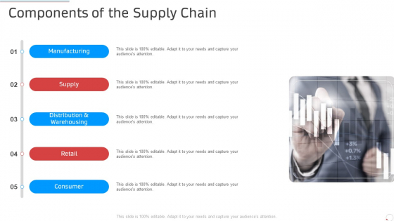 Components Of The Supply Chain Manufacturing Control Ppt Infographic Template Show PDF