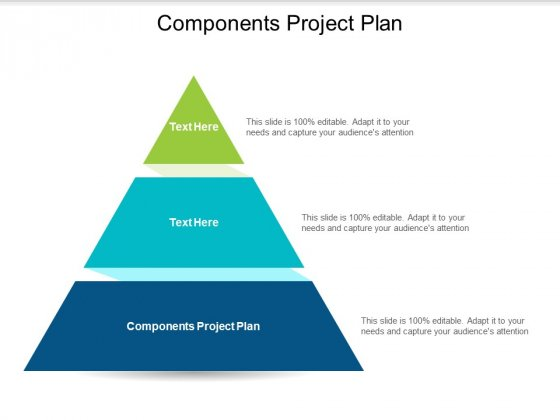 Components Project Plan Ppt PowerPoint Presentation Summary Example Cpb
