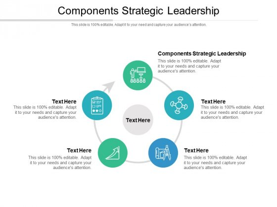 Components Strategic Leadership Ppt PowerPoint Presentation File Picture Cpb