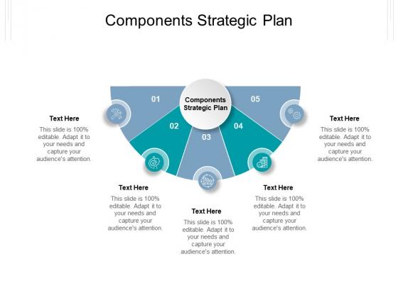 Components Strategic Plan Ppt PowerPoint Presentation Icon Slides Cpb Pdf