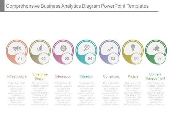 Comprehensive Business Analytics Diagram Powerpoint Templates