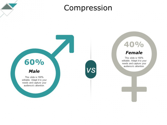 Compression Male Female Ppt PowerPoint Presentation Layouts Rules