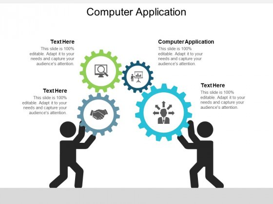 Computer Application Ppt PowerPoint Presentation Summary Format Ideas Cpb