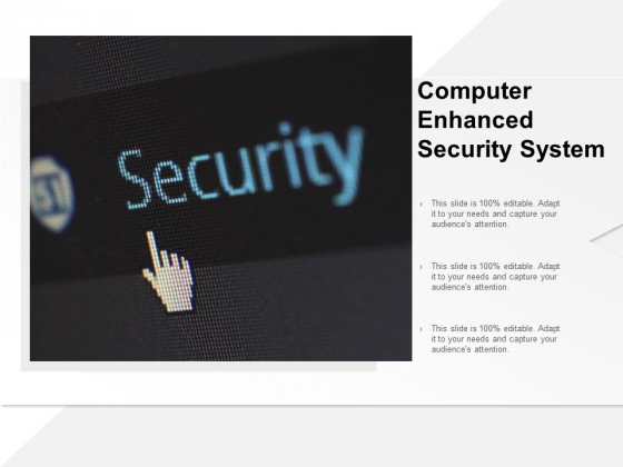 Computer Enhanced Security System Ppt PowerPoint Presentation Show Structure