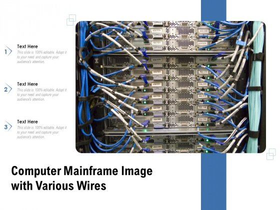 Computer Mainframe Image With Various Wires Ppt PowerPoint Presentation Visual Aids Gallery PDF