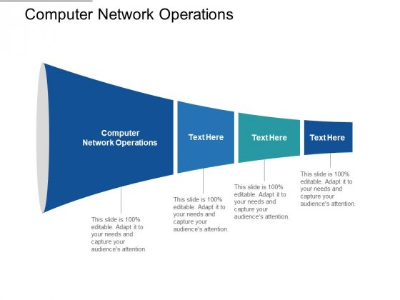 Computer Network Operations Ppt PowerPoint Presentation Show Ideas Cpb