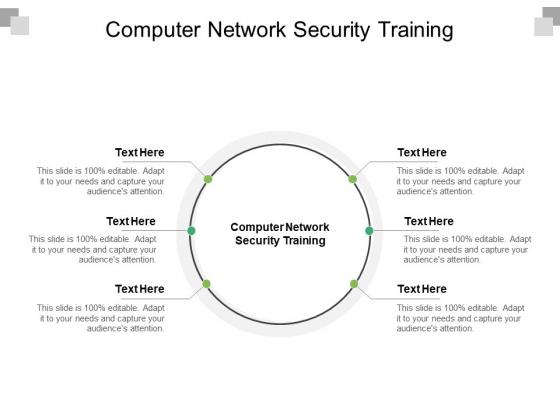 Computer Network Security Training Ppt PowerPoint Presentation Slides Portfolio Cpb Pdf