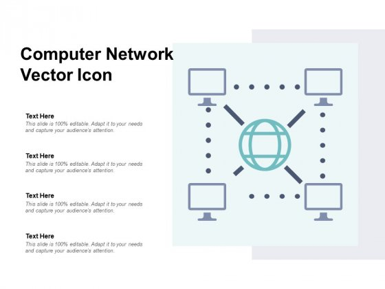 Computer Network Vector Icon Ppt PowerPoint Presentation Infographic Template Styles