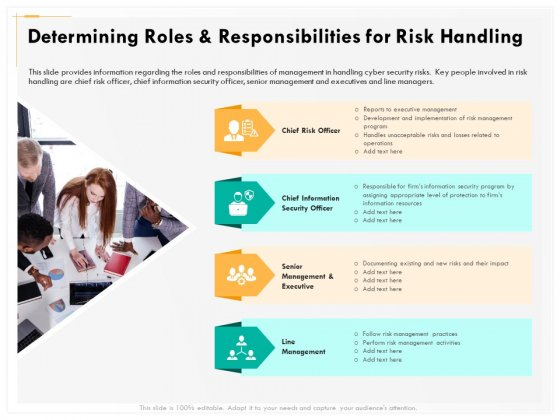 Computer Security Incident Handling Determining Roles And Responsibilities For Risk Handling Mockup PDF