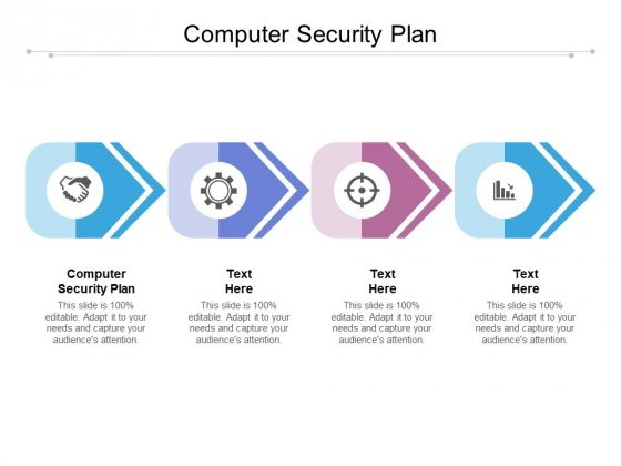 Computer Security Plan Ppt PowerPoint Presentation Visual Aids Show Cpb