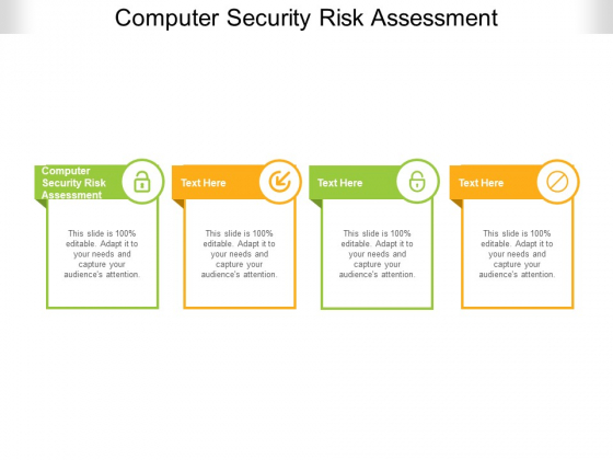 Computer Security Risk Assessment Ppt PowerPoint Presentation Portfolio Layouts Cpb Pdf