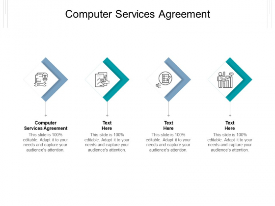 Computer Services Agreement Ppt PowerPoint Presentation Inspiration Vector Cpb Pdf