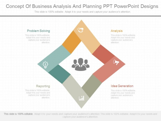 Concept Of Business Analysis And Planning Ppt Powerpoint Designs