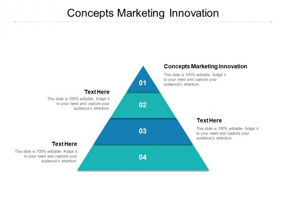 Concepts Marketing Innovation Ppt PowerPoint Presentation Model Diagrams Cpb